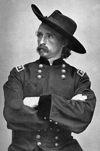 "Unrecorded Custer quote that he probably said: ""Don't worry, men! I believe we will win!"""