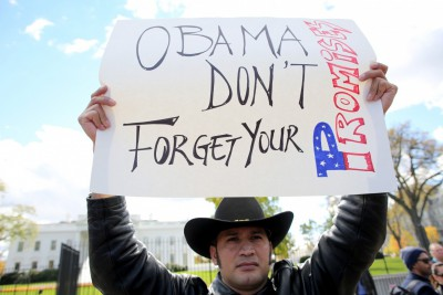 illegal immigrant protest