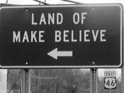Make Believe sign