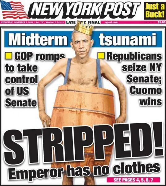 Post Obama STRIPPED