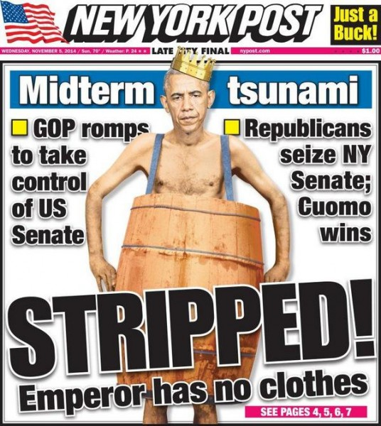 Post Obama STRIPPED