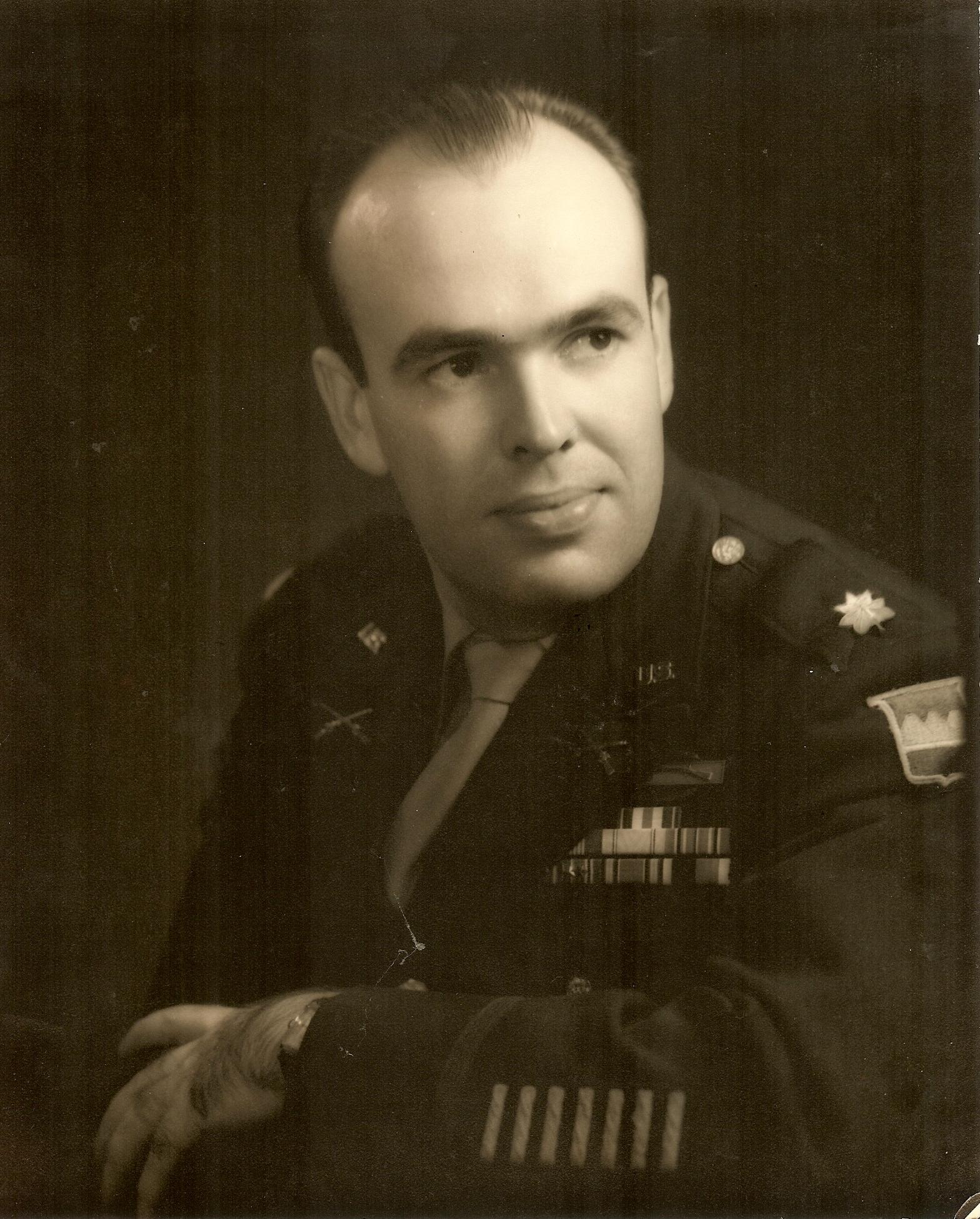 Jack Marshall Sr Army portrait