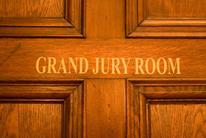 abstract door grand jury room
