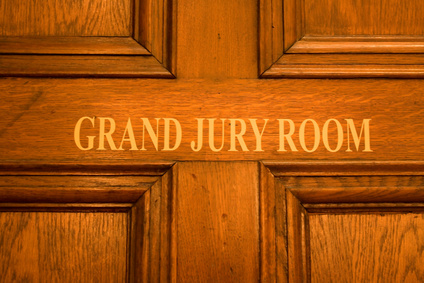 abstract door grand jury room
