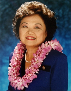 Patsy Mink, almost certainly one of the 100,000 most significant Americans in our history.