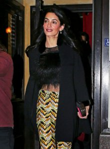 Of course, Columbia could order Amal from not dressing like this, but that would be outrageous.