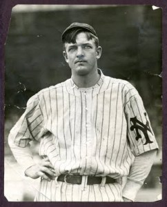 Christy Mathewson, a genuine hero. Barry Bonds would have made him want to throw up.