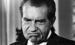 If you don't know why a photo of Richard Nixon is appropriate in a post about Hillary Clinton, you need help...