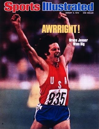 Bruce Jenner Pentathalon Wins Gold Medal August 9, 1976 X 20679 credit:  Walter Iooss Jr. - staff