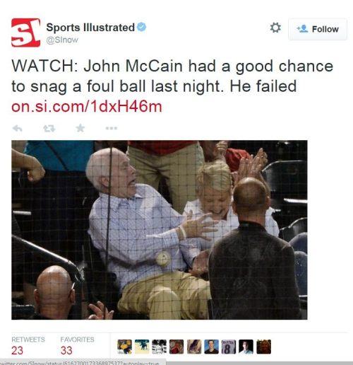 McCain tweet