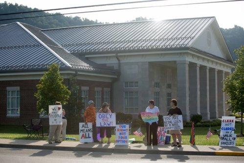 Davis Protest