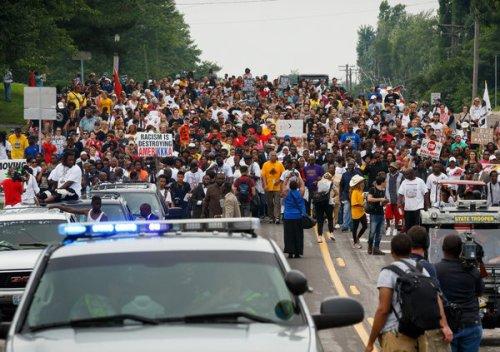 Ferguson anniversary