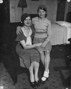 Nan Britton and President Harding's daughter