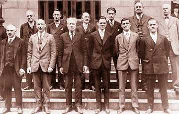 The all white Detroit jury that acquitted Dr. Sweet.