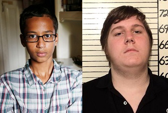 Wrongly accused Texas kid on the left goes to the White House; wrongly accused Texas kid on the right goes to jail. Explain.