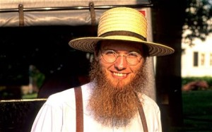 It's true: if you don't think an Amish man should be President, you're violating the Constitution. Or something. Wait...What was the question again?