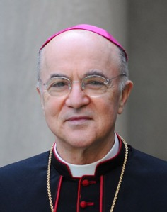 Archbishop Carlo Maria Viganò, the Vatican Ambassador, now residing under a bus...