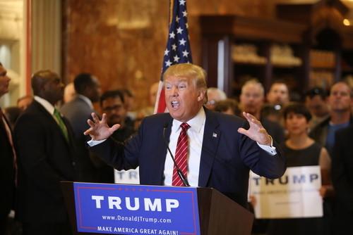 Trump mic