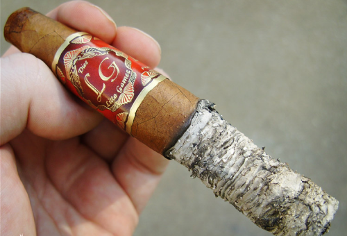 cigar ash