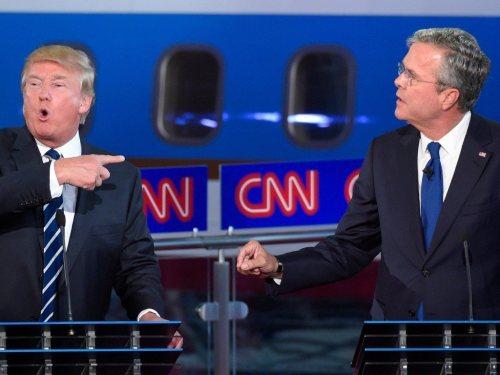 Donald-Trump-Jeb-Bush