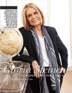 """""""Wait...Gloria Steinem is political????"""""""