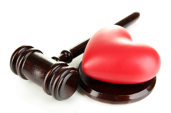 gavel heart