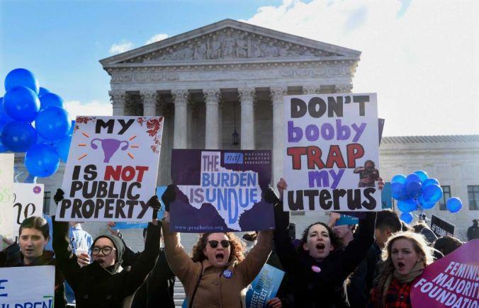 protest SCOTUS