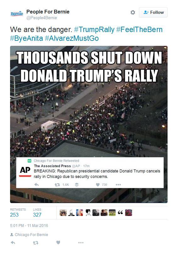 Trump rally riot
