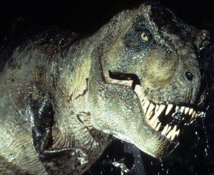 """The T-Rex in """"Jurassic Park"""" was also a female, and I'm sure sexism had a lot to do with everyone not liking her, either..."""