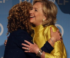 """""""Thanks for all your good work for me, Debbie! And thank the rest of the DNC staff too!"""""""