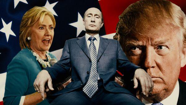 Hillary Putin Trump