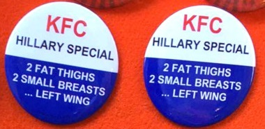 anti-hillary buttons