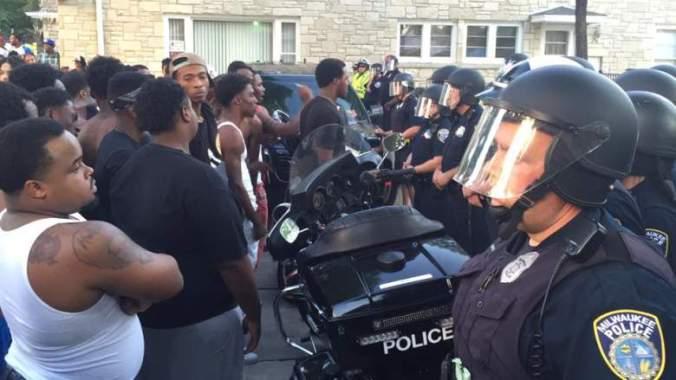 Milwaukee rioting