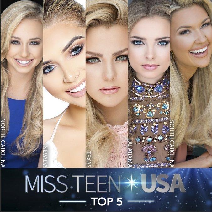 Teen USA finalists