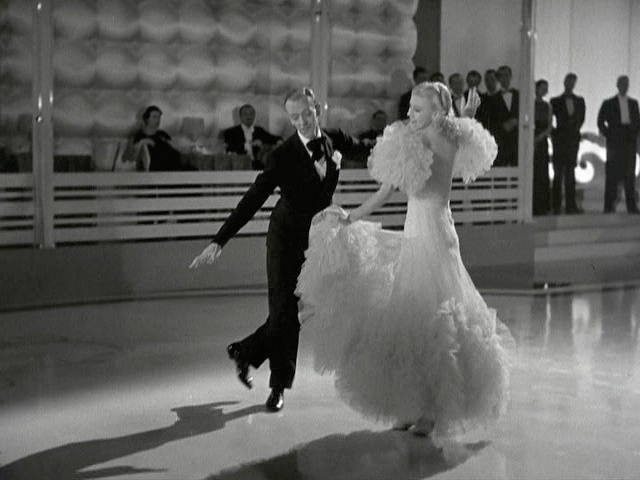 Ginger Rogers + Swing Time