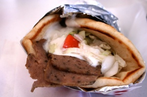 Now THIS is a gyros sandwich!