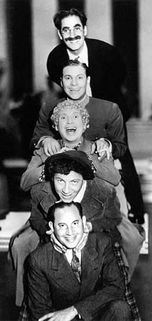 The Marx Brothers: Groucho, Zeppo, Harpo, Chico, and Aleppo