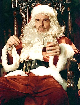 11 photos for movie review running Thanksgiving Eve. Billy Bob Thornton in Terry ZwigoffÕs BAD SANTA. Photo Courtesy of Tracy Bennett.
