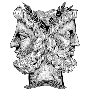 """It was between Janus and the Four Season's song. """"Two Faces Have I..."""""""