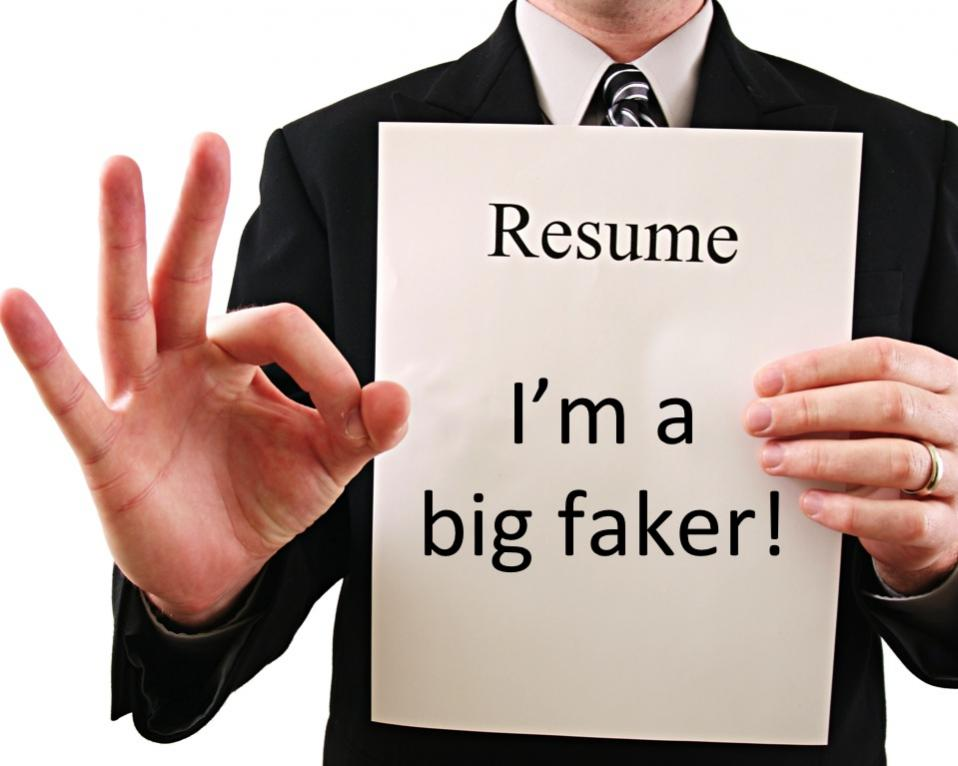 Fake Legal Résumé Ethics | Ethics Alarms