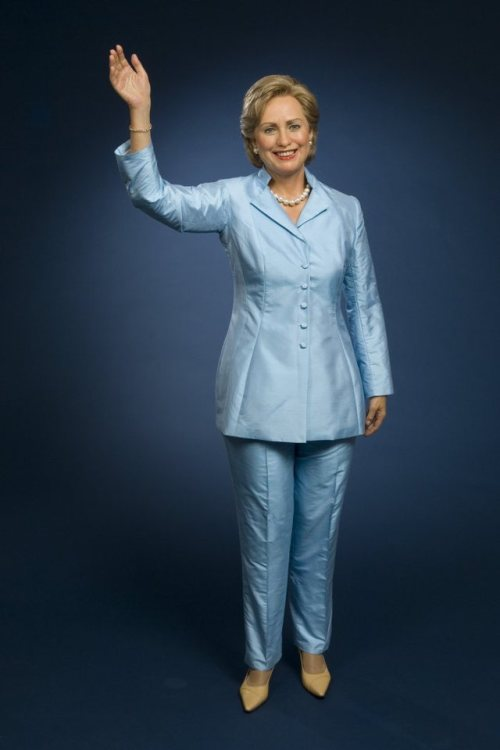 wax-hillaryclinton