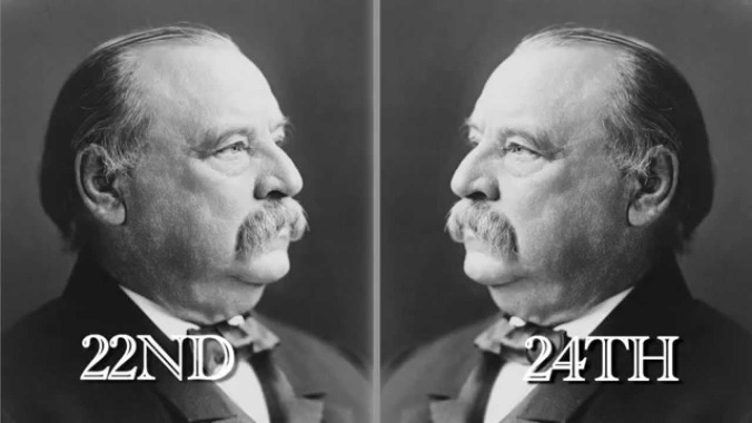 It S Presidents Day Our Special Guests The 22nd And 24th Presidents Grover Cleveland Updated Ethics Alarms