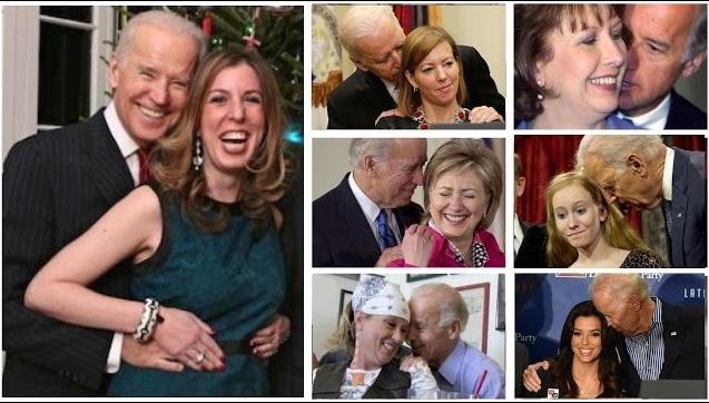 Biden creepy