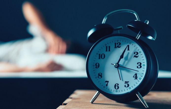 Sleeping disorder or insomnia concept