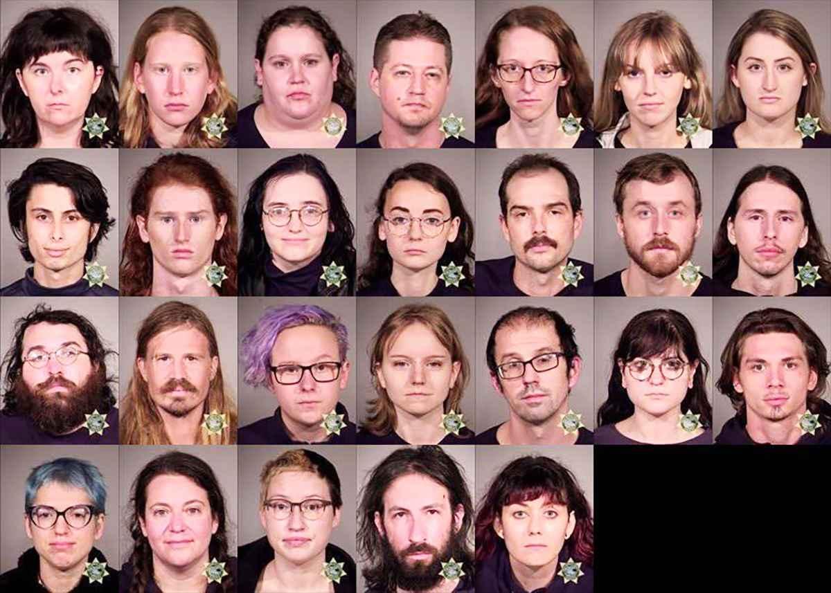Antifa arrests