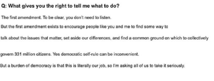 Biden email