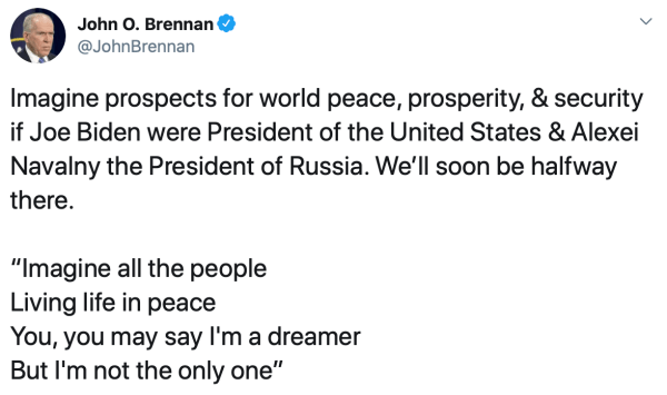 Brennan Tweet