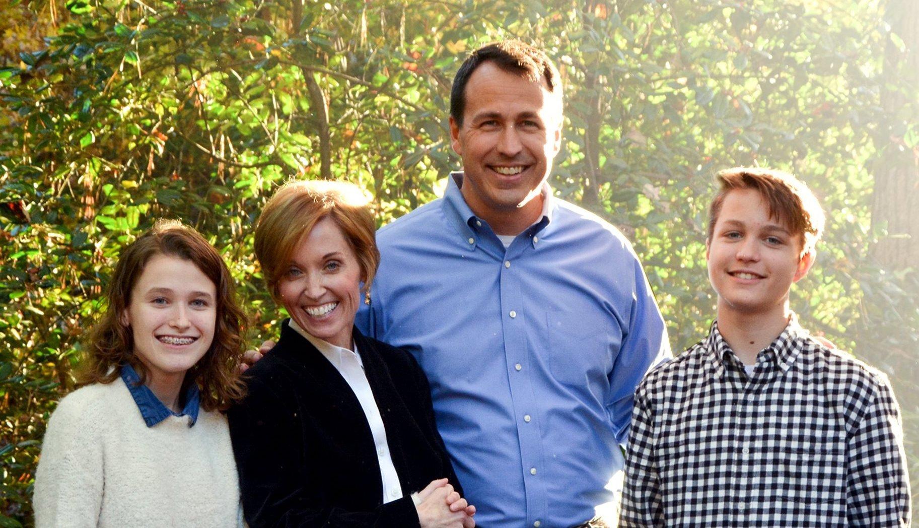 Cal-Cunningham-Family