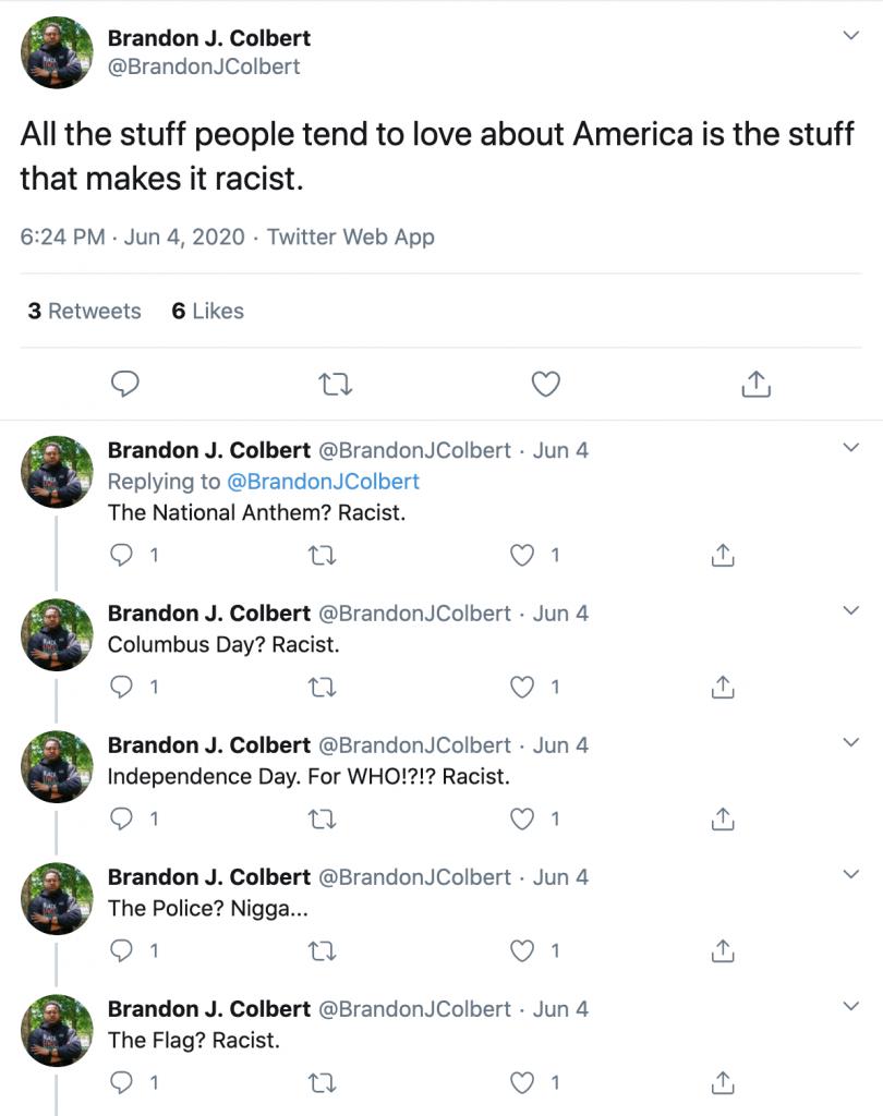 Colbert tweets