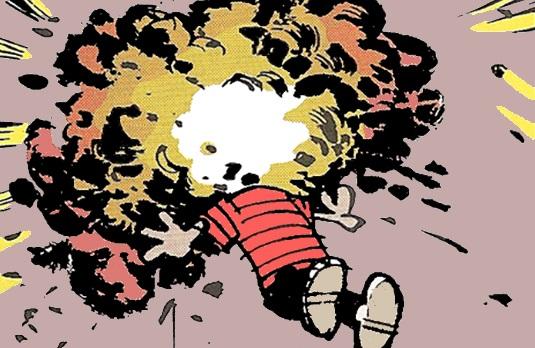 head-explode Calvin